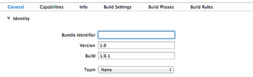 Xcode_General_setting