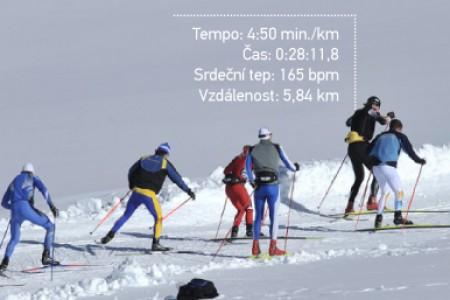 Při běhu na lyžích měří rychlost, vzdálenost a fungují i jako osobní trenér, to vše umí GPS hodinky