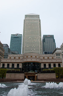 Cabot Square et One Canada Square Building