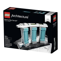 LEGO structure of Marina Bay Sands_2