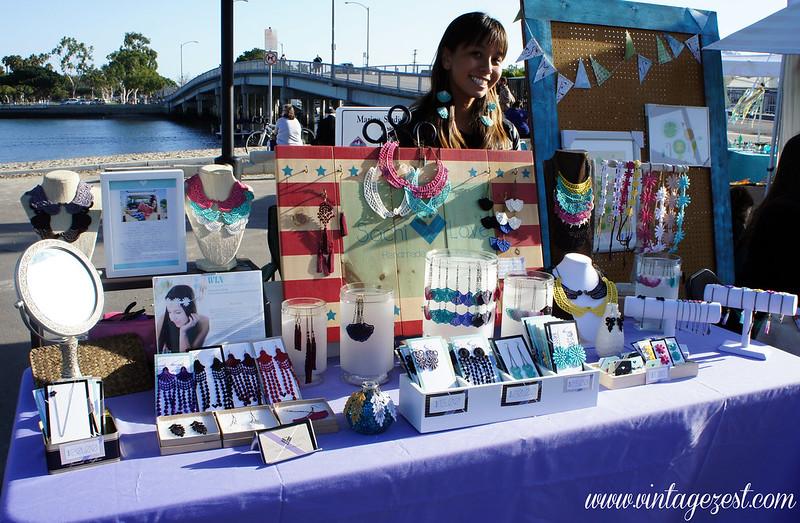 Handmade gift feature sachi love accessories diane 39 s for A r salon hermosa beach