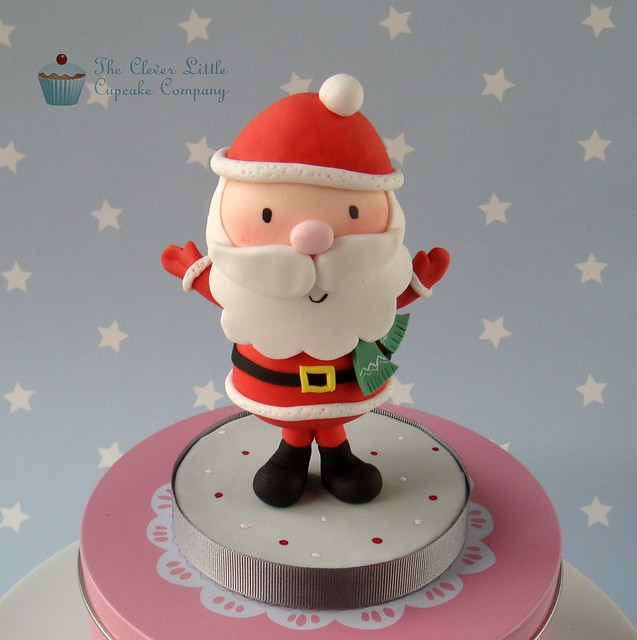 Cake Toppers For Christmas : Father Christmas Cake Topper Flickr - Photo Sharing!
