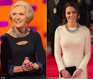 Who wore the Zara necklace better: Mary Berry or Duchess of Cambridge?