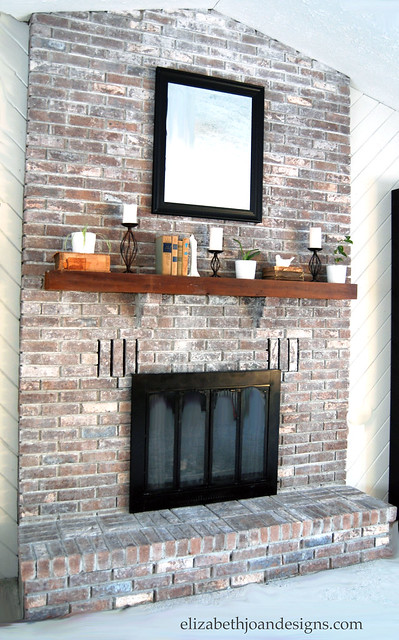 How To Whitewash Brick I Might Need This One Day Is Creative - How to ...