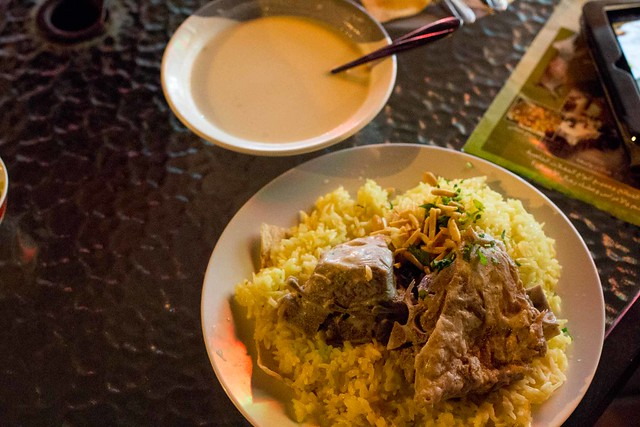 lamb mansaf by CC user scaredykat on Flickr