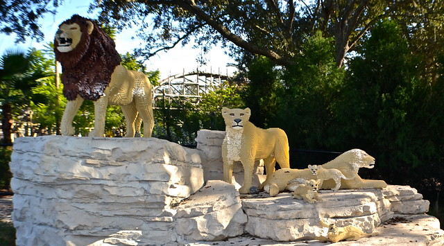 Legoland, Florida - Safari Ride - lions