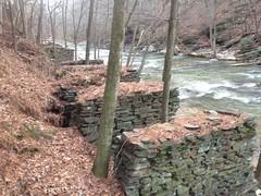 Sope Creek Paper Mill Raceway Ruins