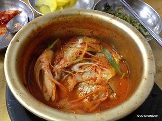Scabbard fish stew