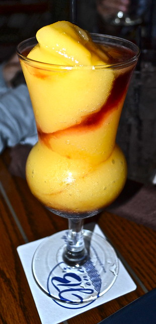 JB's on the Beach restaurant, Deerfield Beach, Florida - mango madness coctail