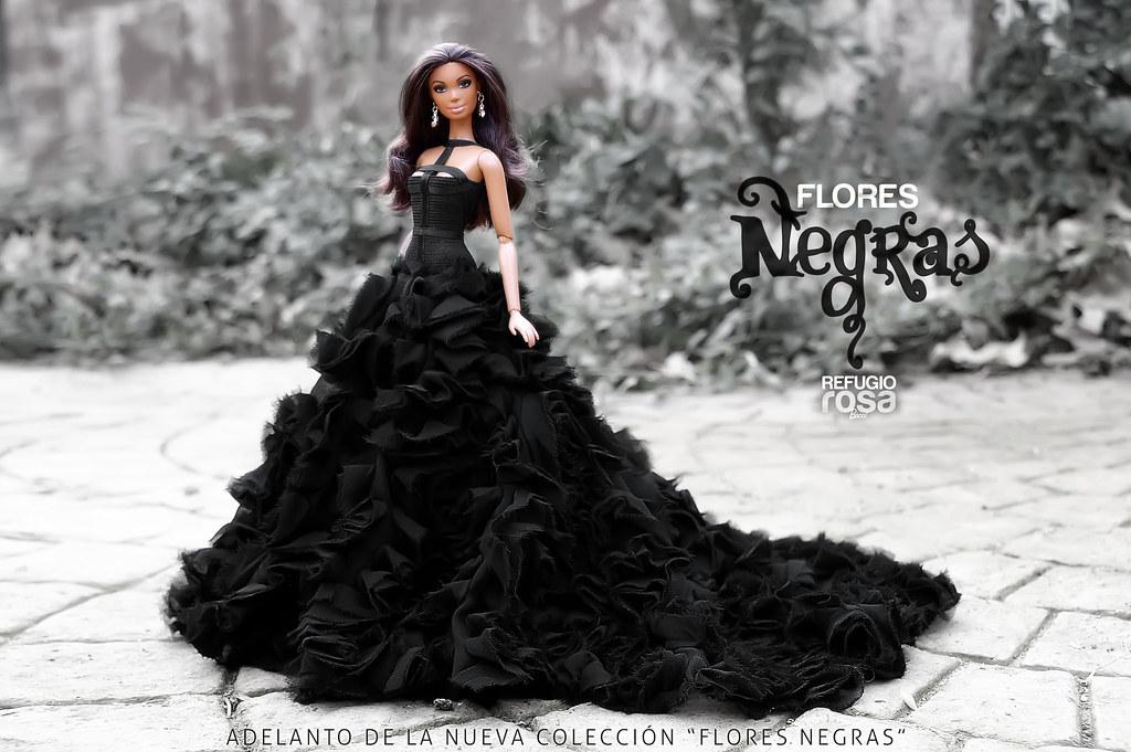 Flores Negras Black Flowers Adelanto De La Nueva Colecci Flickr