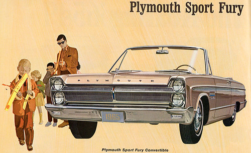 1965 Plymouth Sport Fury by Rickster G