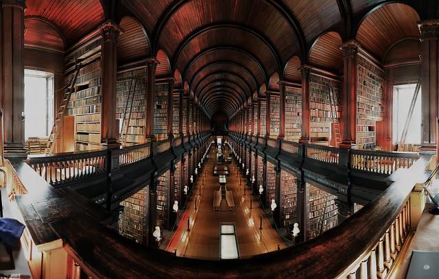 Dublin Trinity College, The Long Room