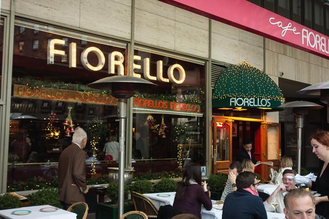 Cafe Fiorello At Lincoln Square Dinner Menu