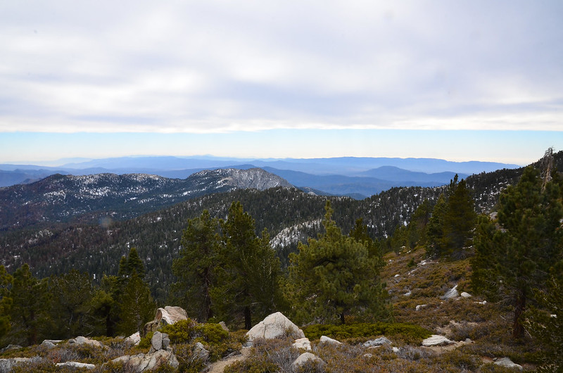 West, over Idyllwild