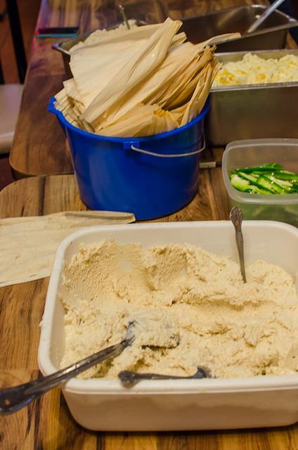 Tamale Making Ingredients