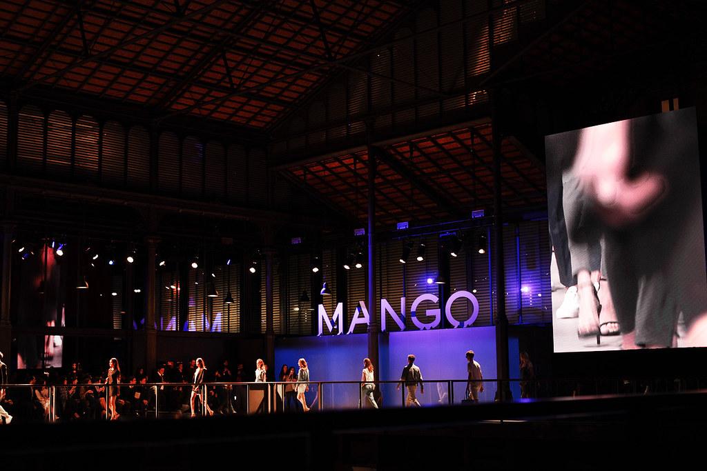 Amlul desfile Mango