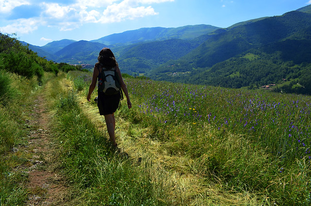 Walking in Pyrenees