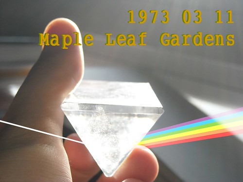 1973 03 11 Maple Leaf Gardens