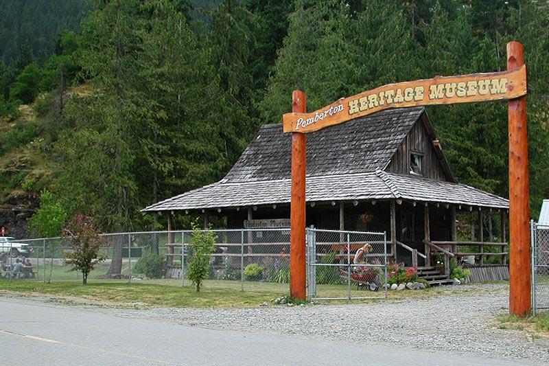Pemberton Heritage Museum, Pemberton, Pemberton Valley, British Columbia, Canada