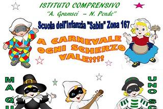 Noicattaro. Festa Carnevale asilo front