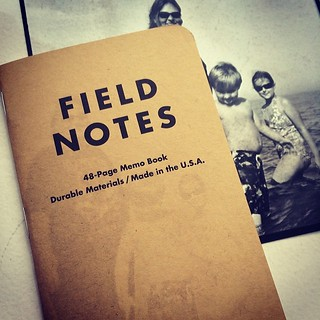 #fieldnotesbrand test, 3-months in the sun sorta worked, (No thanks to two months of overcast sky.) Gonna try another one and maybe some other photo/FN hacks. Look for a blog post in June. #patience