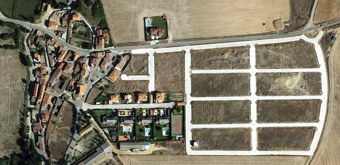 después, urbanismo, foto aérea,desastre, urbanístico, planeamiento, urbano, construcción,Florida de Liébana, Salamanca