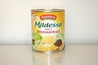 03 - Zutat Sauerkraut / Ingredient sauerkraut