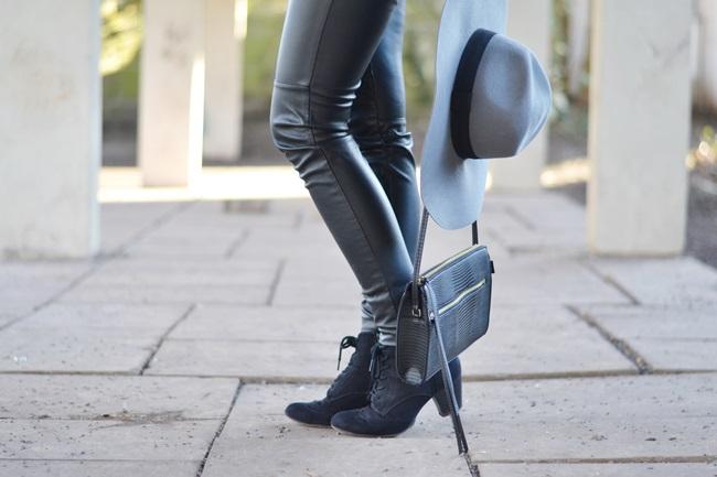 Outfit Flieder und Leder (10)
