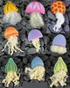 Jellyfish Brooches - Needle Felt