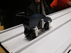 Scratch-built E-Car