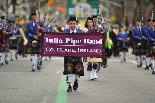 Representing Co. Clare at the New York City Parade