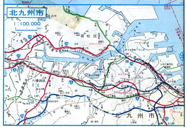 北九州道路と都市高速未成道
