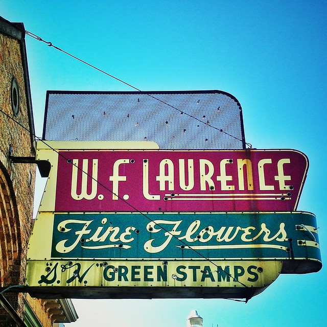 W.F. Laurence Fine Flowers Shop Is Long Gone, But The