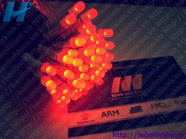 LED Liền Dây Phi 5 Màu Đỏ