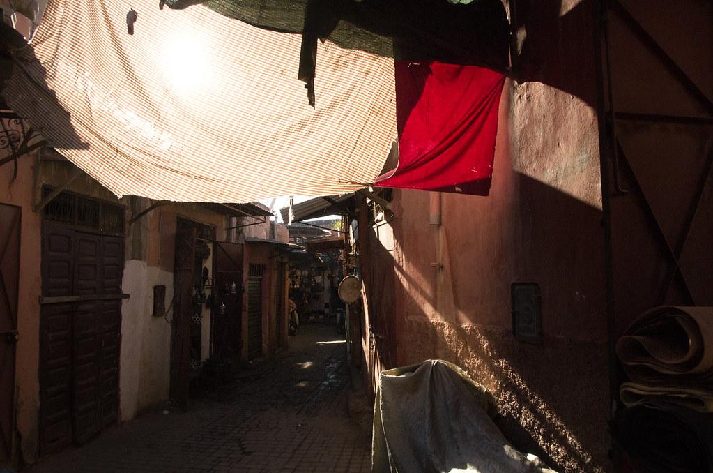 Marrakech - City trek - Jeux de lumière