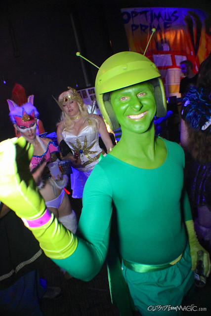 80s Toons Gone Wild party at MegaCon 2014