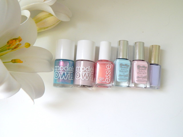 Spring Nails ft Models Own Essie Barry M and Loreal