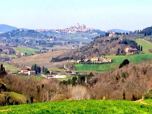 Veduta di San Gimignano