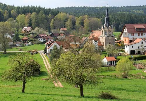 Spring in my village