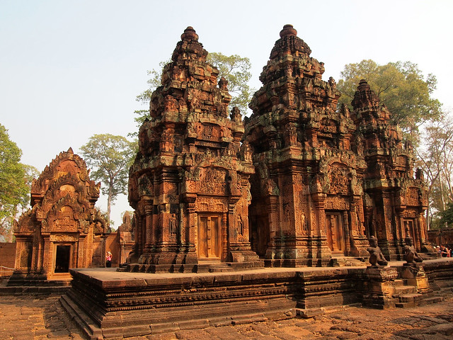 Banteay Srei temple in Angkor, Cambodia