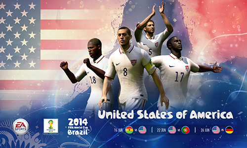 2014 FIFA World Cup Brazil USA cover