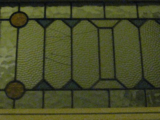 Art Nouveau Stained Glass in a Shopfront – Corner Doveton and Macarthur Streets, Ballarat