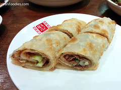 Marinated Beef Wrapped in Pancake