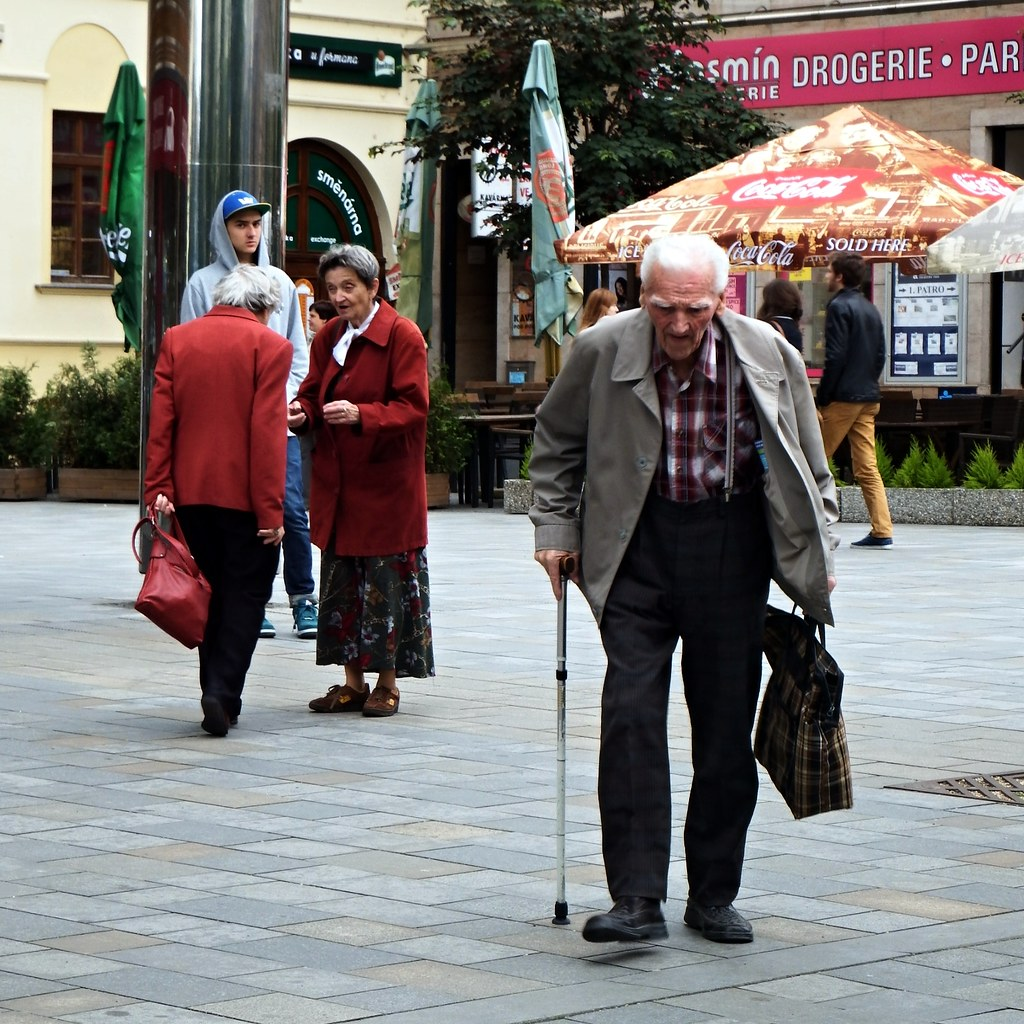Old People in Brno
