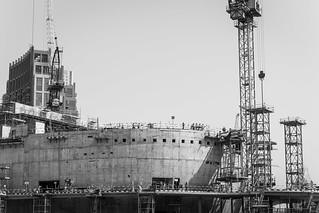 Bauarbeiten in Dubai