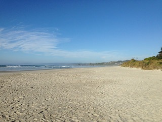 Image of Beach with a length of 6338 meters. newzealand nz otago oceanview iphone