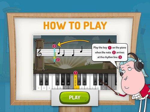 Apps: Piano Maestro by JoyTunes » Figur8 - Nurture for the Future