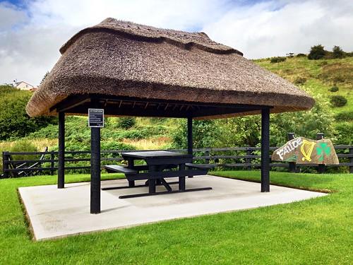 Picnic area bench