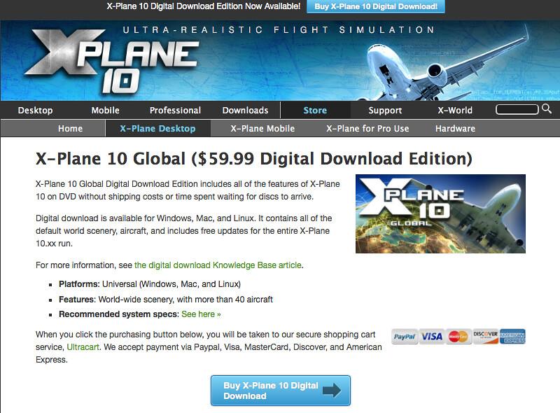 x plane digital  product key