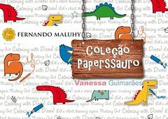 Capa da Coleção Paperssauro